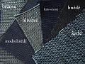 Bio hrubá plátna - barevné srovnání