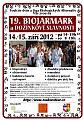 19. Biojarmark a dožínkové slavnosti - pozvánka