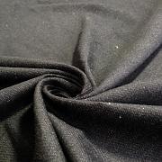 Černý denim - 100% biobavlna