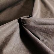 Protkávaná tmavě hnědá 100% bio bavlna