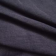 Plátno hrubé fialové  100% fairtrade biobavlna