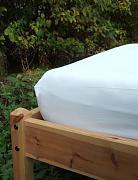 Bio prostěradlo napínací 140-160 x 200 cm