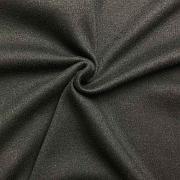 Interlock černý 100% bio bavlna