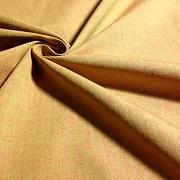 Protkávaná ohnivá oranžová 100% bio bavlna