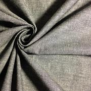 Protkávaná černá 100% bio bavlna