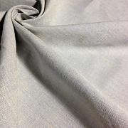 Protkávaná světle modrá 100% bio bavlna