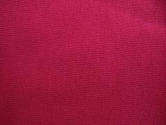 Jednolíc sytě růžový 100% bio bavlna
