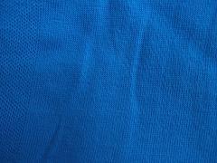 Jednolíc nebesky modrý 100% bio bavlna