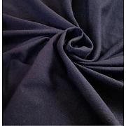 Jednolíc tmavě modrý 100% bio bavlna