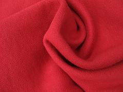 Výplněk (teplákovina) červený 100% biobavlna