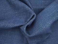 Bio denim modrý hrubý