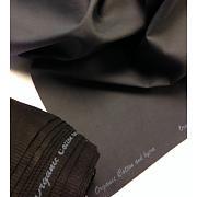 Pružný twill šedý s lycrou 95% bio bavlna