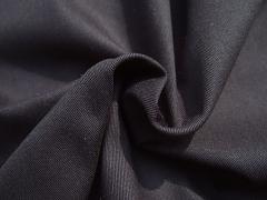 Pružný twill černý s lycrou 95% bio bavlna