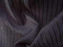 Bambusové hedvábí černé proužky 1