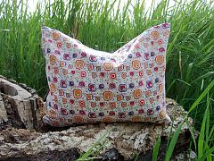Bio pohankovo-špaldový polštář Joli multicolor