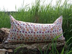Bio pohankovo-špaldový polštář MACÍK - Joli multicolor